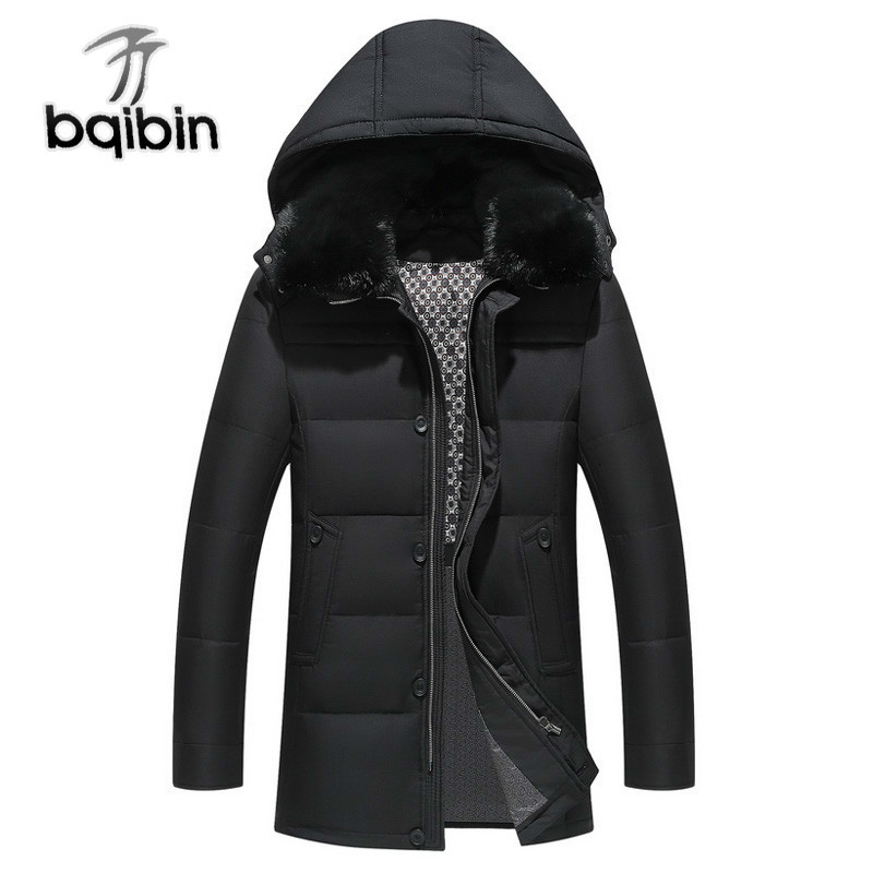 New Winter   Down   Jacket -20 Degree Hooded Warm Winter Jacket Men Thick Business Casual Men Parka   Down     Coats   #553