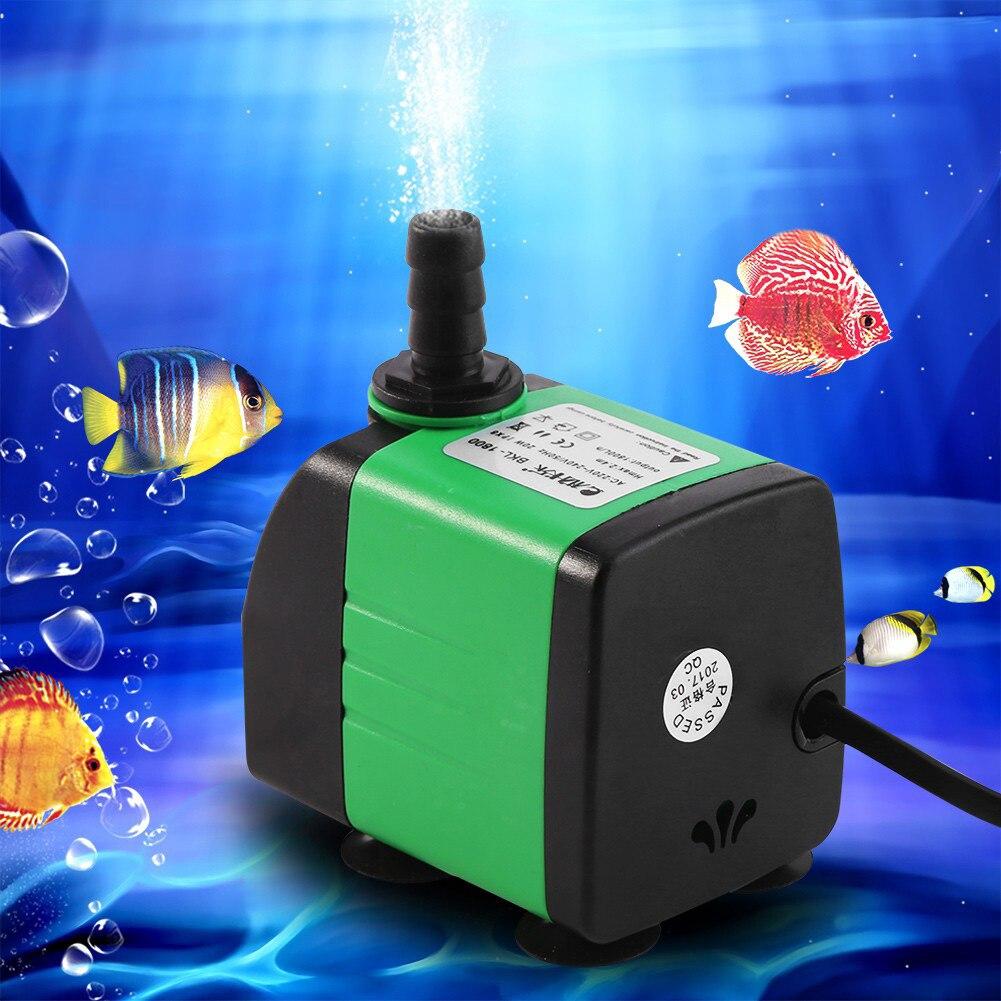 Oxygen Aquarium Fountain Filter Pump Aquarium Water Pump Colorful Fashion Electric Submersible Pond Fish Submersible Pump