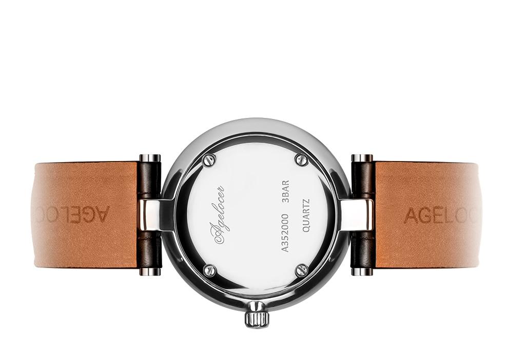 a mulher design moda relógio das mulheres