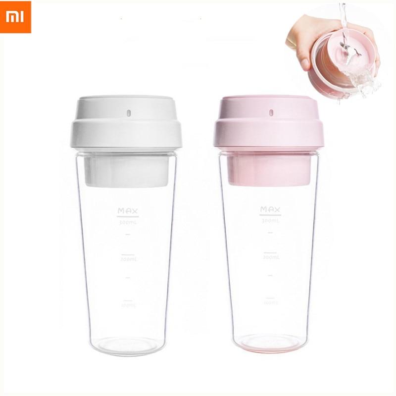 Xiaomi 17pin 400ml Electric Juicer Electrical Portable Mini Fruit Vegetable Orange Juice Mi 400ml Bottle Cup For Girl Outdoor