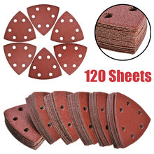 120 шт 93 мм 6 отверстий клей шлифовальные диски Дельтовидная
