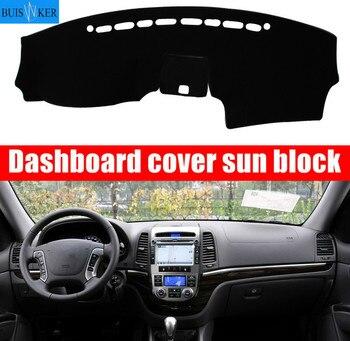 For Hyundai Santa Fe 2007 2008 2009 2010 2011 2012 Car Dashboard Cover Mat Pad Sun Shade Instrument Protect Carpet Accessories