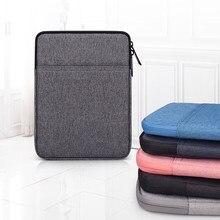 Étui pour Ipad 11.6-15.4 pouces universel sac pochette couverture fermeture éclair sac à main manchon pour Apple iPad Pro 11 2020 étuis