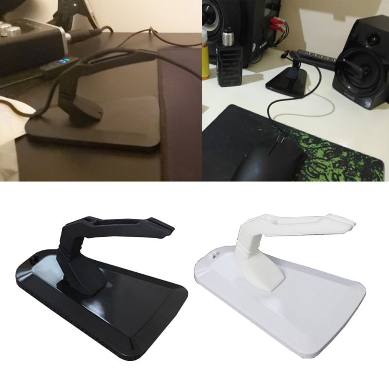 Mouse Bungee Wire Holder Gaming Mouse Cord Clip Management Fixer Holder W91A
