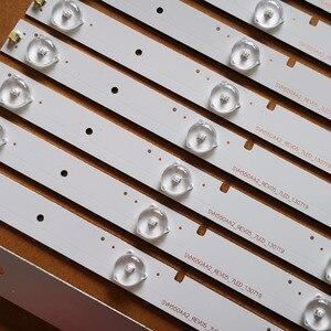 Image 2 - 11 قطعة جديد شرائط ليد ل شارة 55 التلفزيون NS 55D550NA15 55K20DG 55K23DG HD550DF B57 SVH550AA2 REV05 7LED 130719