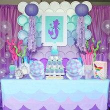 Meidding conjunto de talheres de festa de aniversário, menina, descartável, conjunto de balão, placas, bandeiras, decoração de casamento, chá de bebê