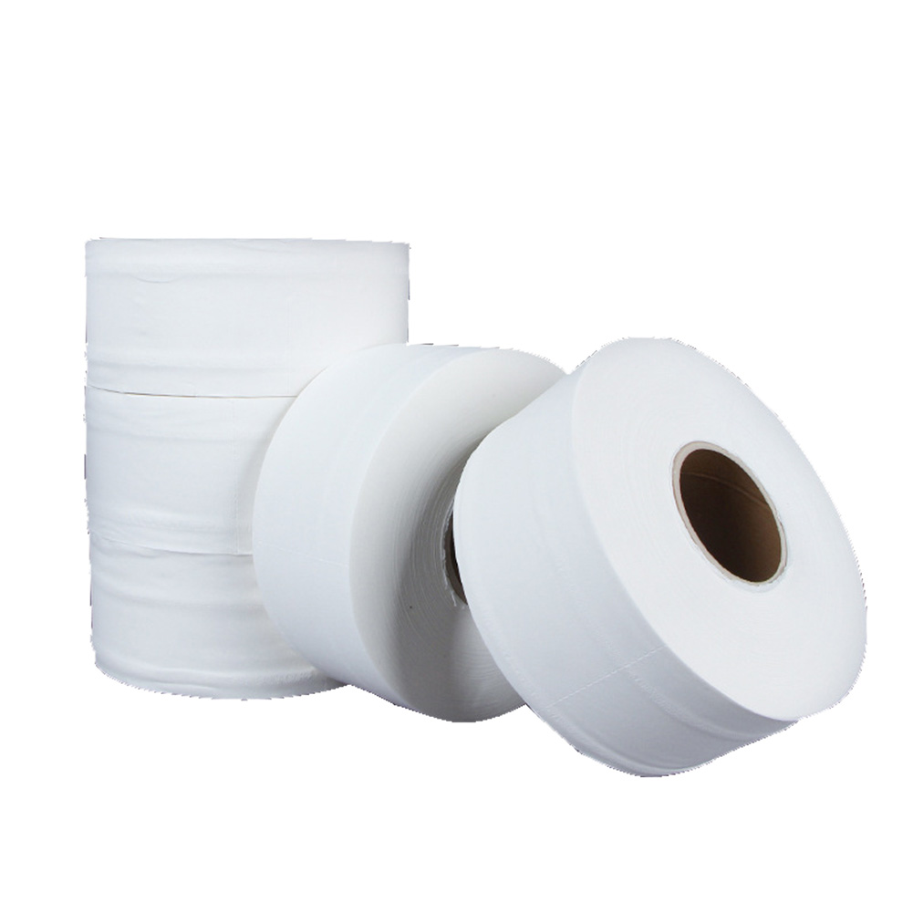 4-layers Wood Pulp Rolling Paper Tissue Strong Water Oil Absorption Napkin Kitchen Stand Tissue Table Bathroom Paper