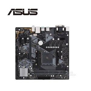 For ASUS PRIME B450M-K Motherboard Socket AM4 DDR4 For AMD B450M B450 Original Desktop Mainboard Used Mainboard