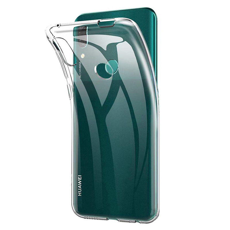 Clear Silicone Phone Case Cover For Huawei P Smart Z Soft TPU Transparent 360 Back Armor Y9 Prime 2019 PSmart SmartZ Y9Prime Gel