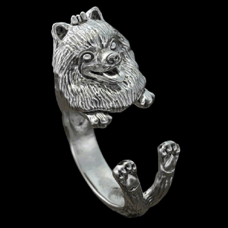 Купить 1 шт кольцо в стиле ретро панк померанское свободного размера