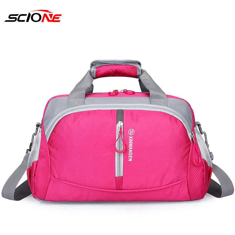 Scione Top Nylon Waterproof Sports Gym Bag With Shoe Compartment  Women Men For Gym Fitness Training Yoga Bolsa Sac De Sport