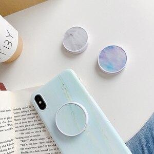Image 2 - Sevimli katlanır cep telefonu için standı tutucu iPhone X XR 11Pro için Huawei için xiaomi için Samsung telefon kılıfı kavrama Kichstand