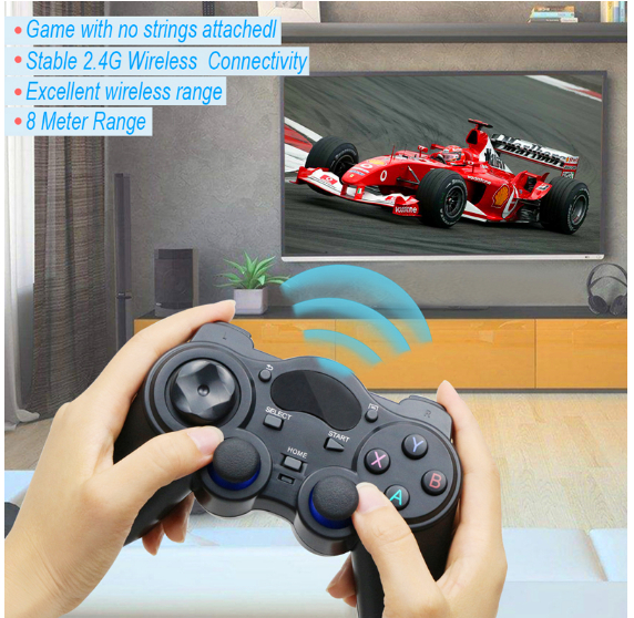 Gamepad Android Otg-Converter Tablet Smart-Tv-Box Wireless Joystick with New Joypad  title=
