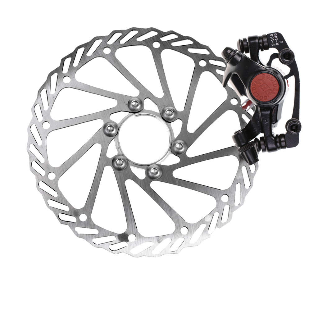 Mechanical Disc Brake Caliper With Lock 160mm Rotor For MTB Road Bicycle Pretty