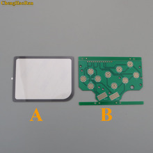 1 Lens + PCB DMG GB di Plastica Un Pulsante B e Del Silicone Selezionare Start Pulsante di Gomma Per Raspberry Pi Pari A Zero PCB Board & Lens Protector