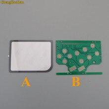 1 렌즈 + pcb dmg gb 플라스틱 a b 버튼 및 실리콘 선택 라스베리 파이 제로 pcb 보드 및 렌즈 보호대 용 고무 버튼 시작