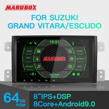 Marubox per Suzuki Grand Vitara, escudo 2005-2016 Car Multimedia Player Android 9 Gps Car Audio Radio Auto 8 Core Dsp KD8112(China)