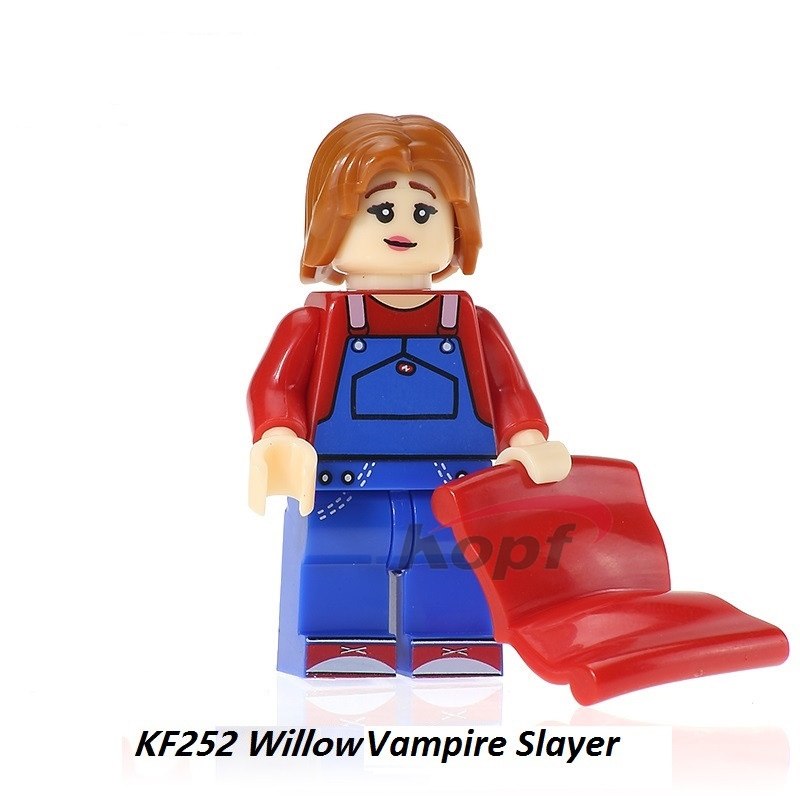 Single Sale Bricks Buffy Super Heroes Angel Figures Willow Vampire Slayer Building Blocks Bricks For Children Gift Toys KF252