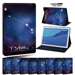 Чехол-подставка из искусственной кожи для планшета Huawei MediaPad T3 8,0/MediaPad T3 10 9,6 дюйма/MediaPad T5 10 10,1 дюйма, чехол-подставка для планшета