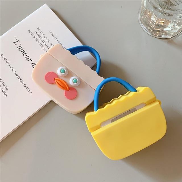 Super Cute Retro 3D Silicon Case for Airpods Pro 1