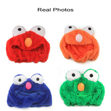 Funny Unisex Frog Motorcycle Helmet Cover Halloween Mask Furry Animal Head Cover
