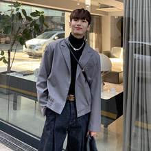 Netred в Корейском стиле короткая куртка костюм для мужчин ins