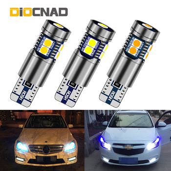 1pcs W5W T10 Canbus Car LED Position Light Lamp Bulb 3030 SMD For bmw e46 e90 e60 e39 e36 f10 f30 f20 e87 x5 e70 e91 e34 g30 e92 image