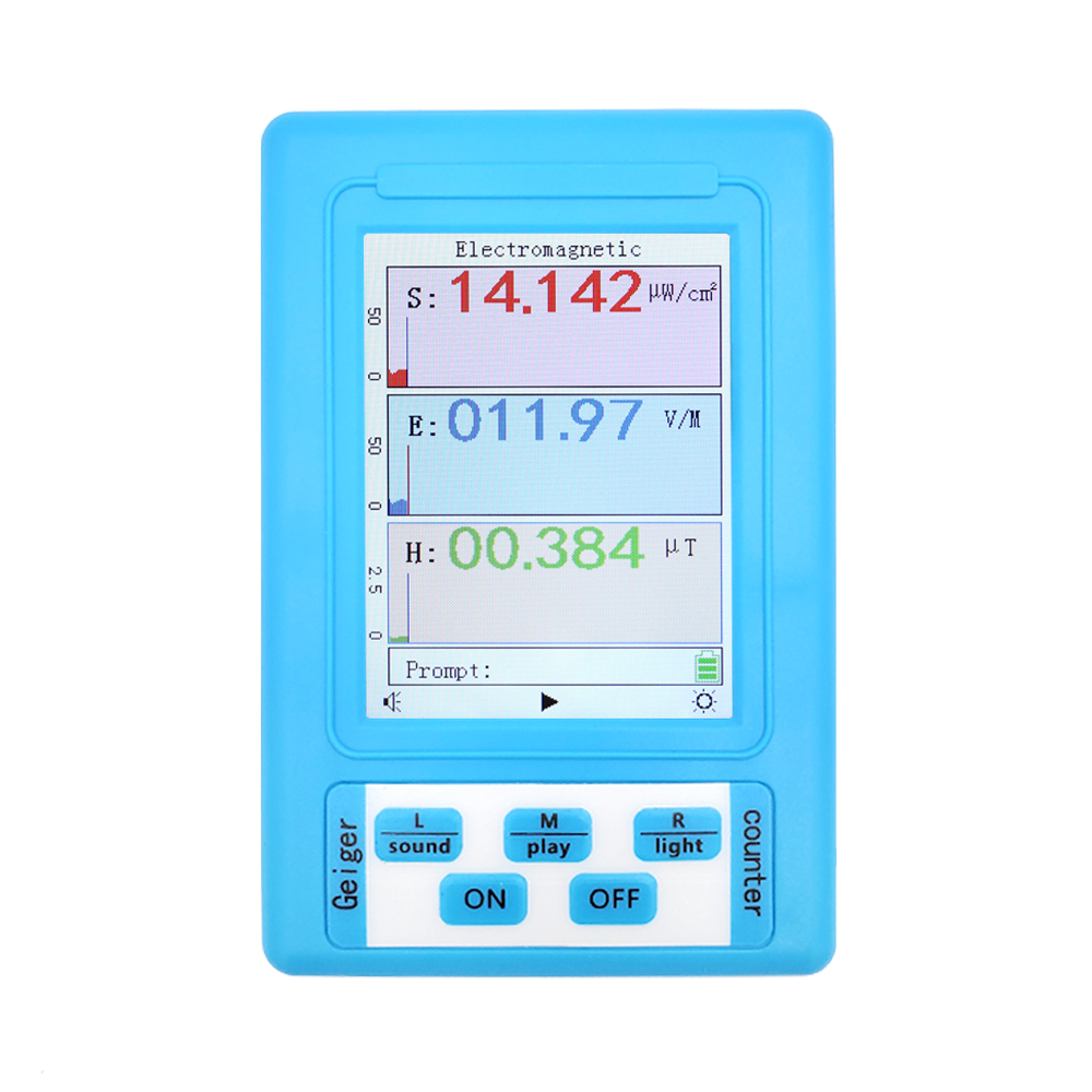 BR-9A портативный детектор электромагнитного излучения, измеритель ЭМС, высокоточный Профессиональный дозиметр радиации, монитор, тестер