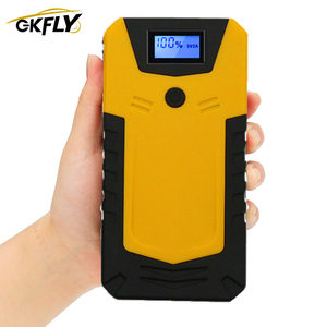 GKFLY Portable Starting Device Cable 12V Car Jump Starter Portable Power Bank Petrol Diesel Car Battery Booster Charger Restart