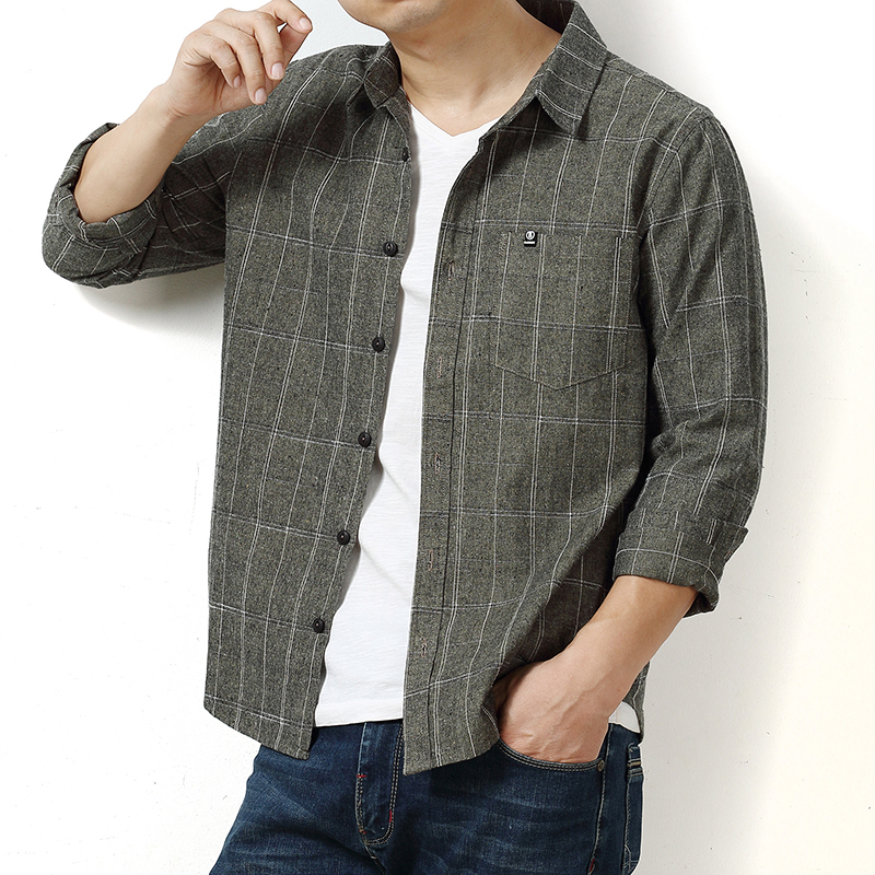 Big Plus Size 8XL 7XL 6XL 5XL Brand  New Cotton Shirt Men Causal Shirts High Quality Clothing Men Business Dress Shirt