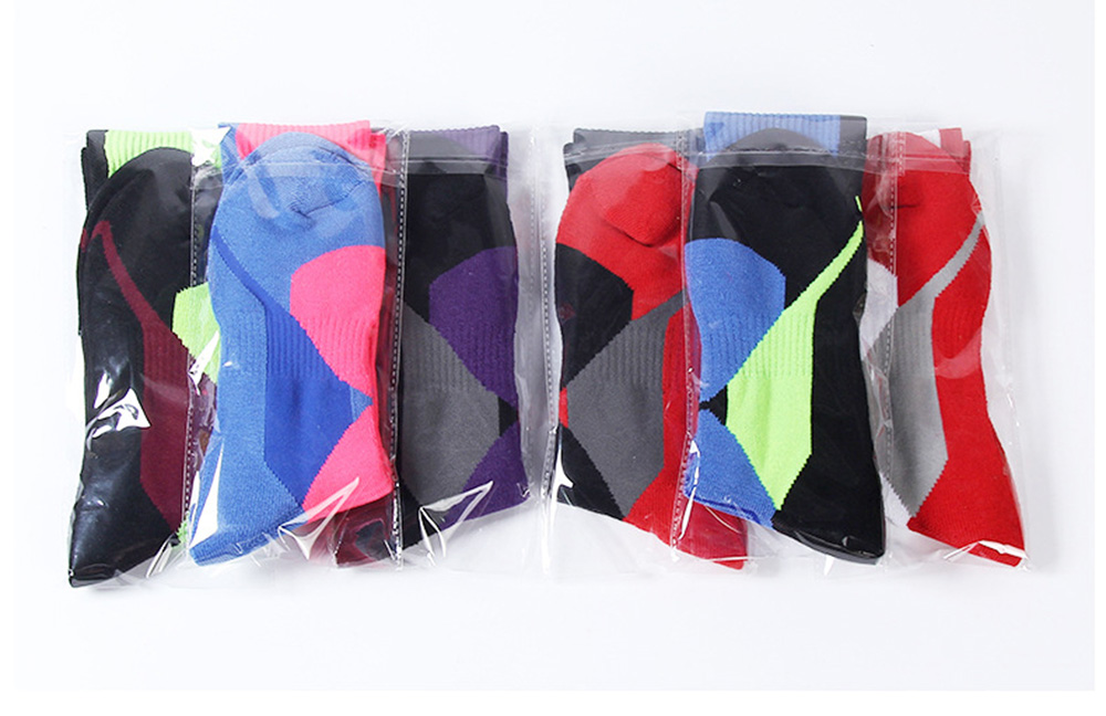Cycling Socks Knee-High Professional Bicycle Compression Stocking Breathable Outdoor Sport Footwear Protect Running Socks BC0226 (6)