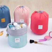 С косметичкой Корейская Сумка цилиндр сумка для стирки водонепроницаемая