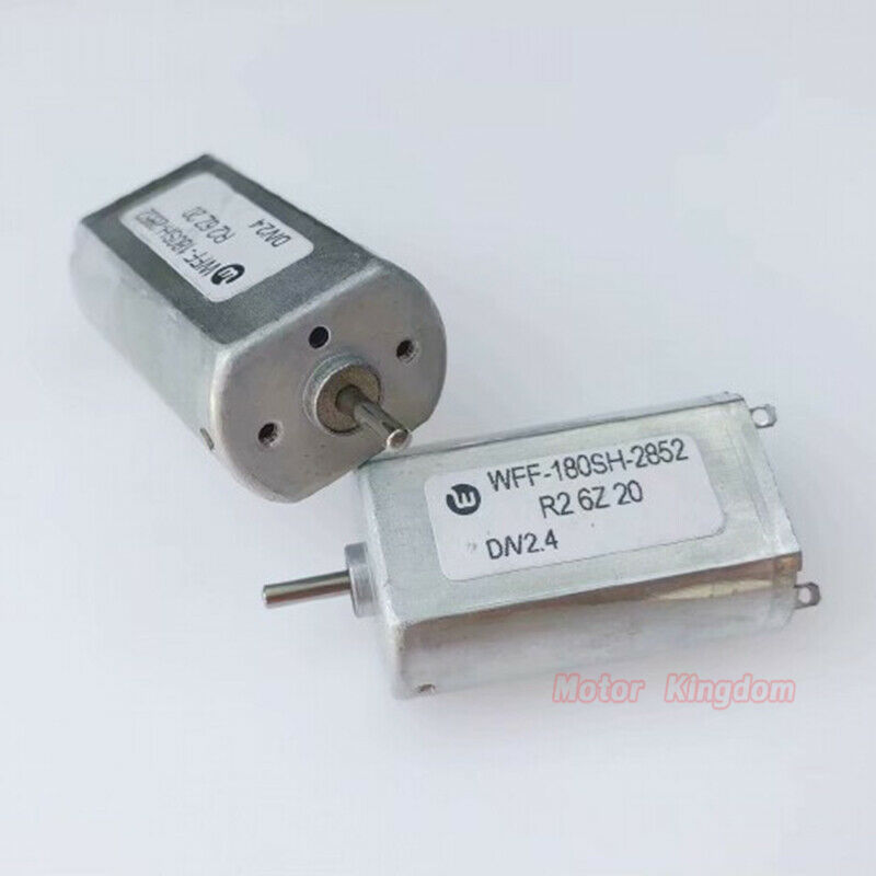 FF-180SH DC Electric Shaver  Motor  2.4V 8300RPM Precious Metal Brush Mini 180 Motor 2mm Dia Shaft
