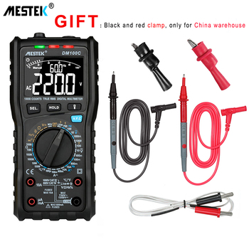 цена на MESTEK DM100C Manual/Auto Range Multimeter High Speed Smart Double Core VFC Variable Frequency Voltage Multimeters Measurement