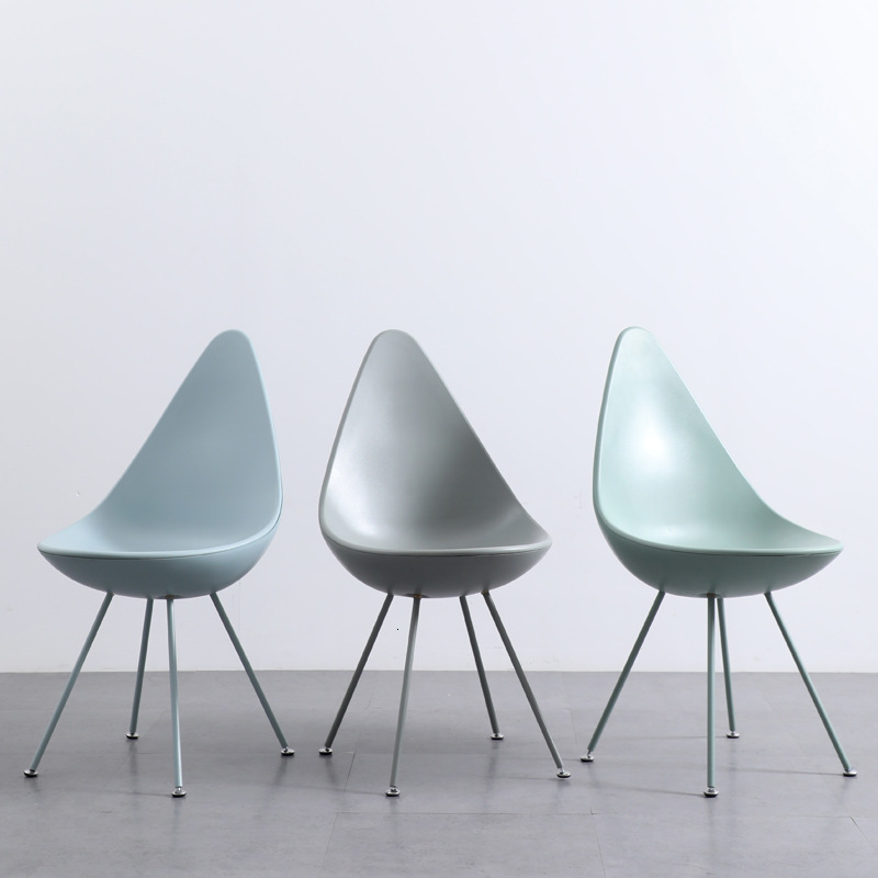 Northern Europe Originality Drip Chair Designer Concise Cafe Backrest Fund Modern Negotiate Leisure Time Restaurant Chair