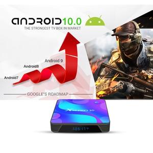 Image 3 - TV BOX Android 10.0 TV BOX X88 PRO 10 Rockchip RK3318 4GB 32GB 64GB 128GB 4K TV BOX Support Player Store Set Top Box