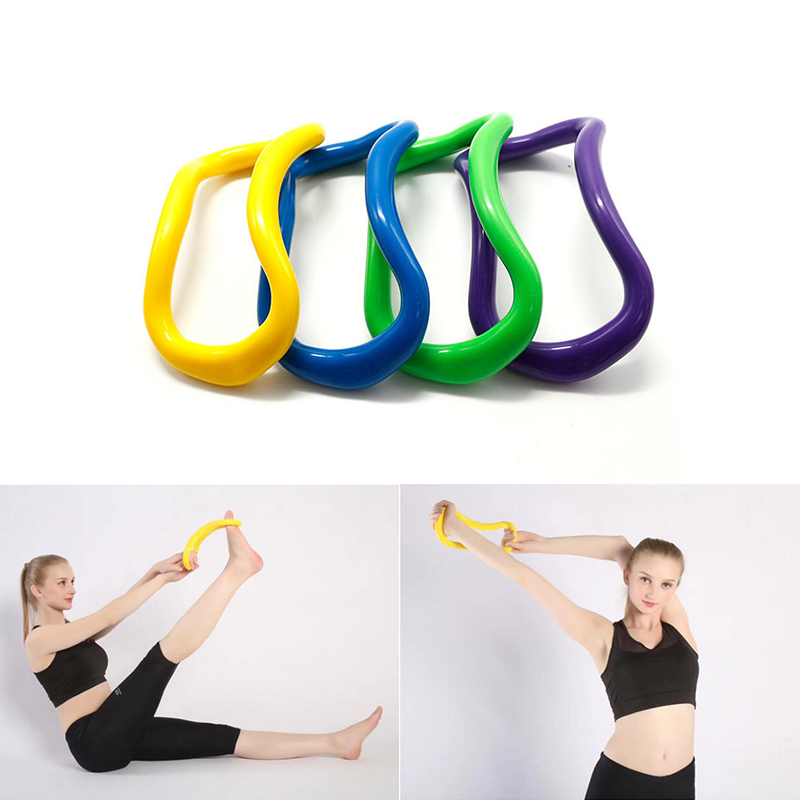 Yoga Magic Ring Pilates Workout Fitness Circle Yoga Circle Equipment Muscle Trainer Training Resistance Support Tool Calf Home