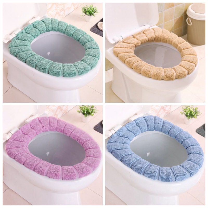 Universal Warm Soft Washable Toilet Seat Cover Mat Set for Home Decoration Closestool Mat Seat Case Toilet Lid Cover Accessories(China)