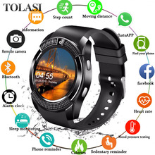Sport Bluetooth Smart Watch Touch Screen Wrist with Camera/SIM Card Slot Waterproof Men Women VS DZ09 X6 M2 A1