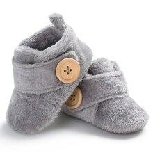 Милая обувь для маленьких мальчиков и девочек; обувь для малышей; мягкая зимняя обувь для малышей; Удобная нескользящая обувь из хлопка для новорожденных; теплые носки