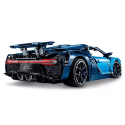 4031pcs Science Technic Blue Chiron Racing Car Compatibie Legoings Building Blocks Toy Kit DIY Educational Children Gifts