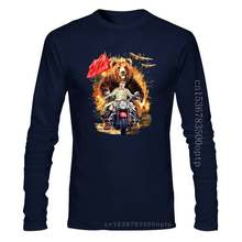 T-Shirt, Grizzly Bear and Soviet Stalin In Epic Battle 2019 Summer Men'S Men High Quality Tees Nerd T Shirts