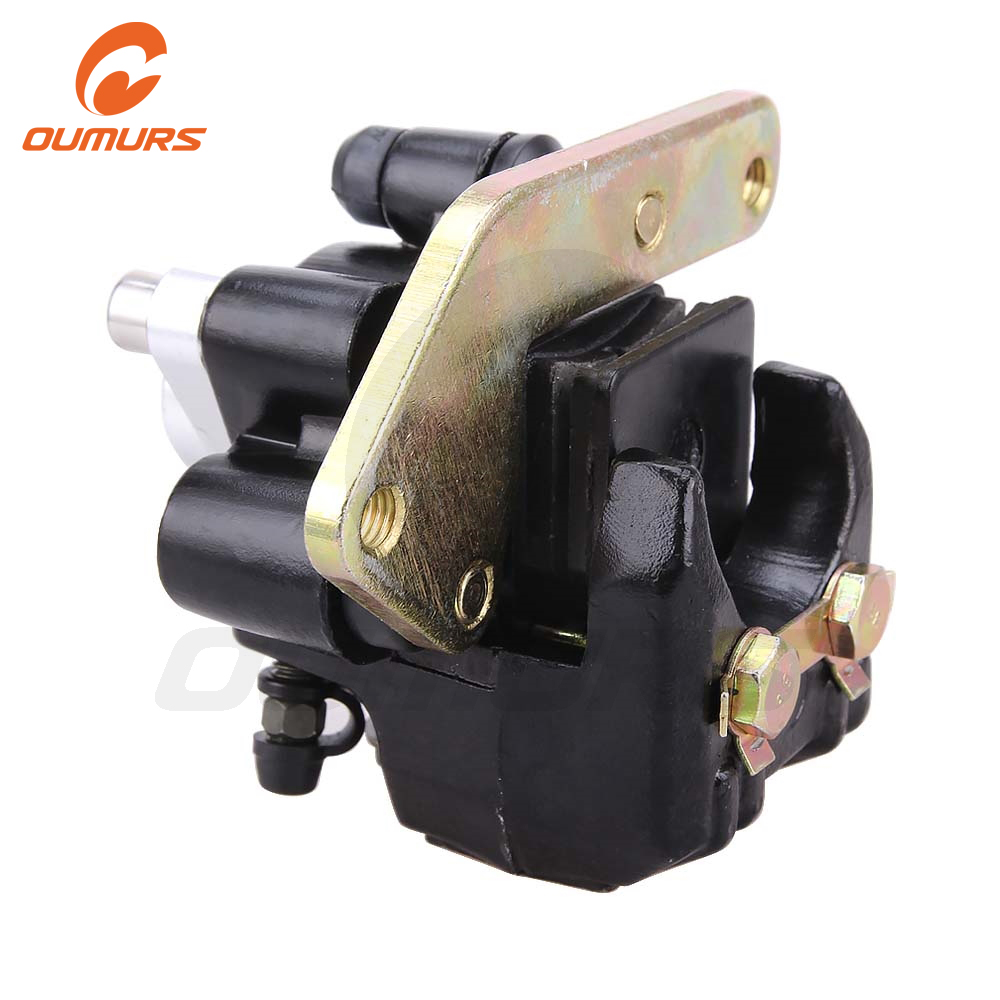 OUMURS Motorcycle Rear Brake Pump Caliper For Yamaha ATV Banshee 350 Warrior Wolverine 350 Raptor 250 660 YFZ350 YFM 600R 350X title=