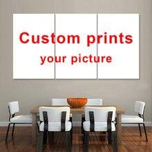 Печать на заказ 3 предмета настенные художественные украшения