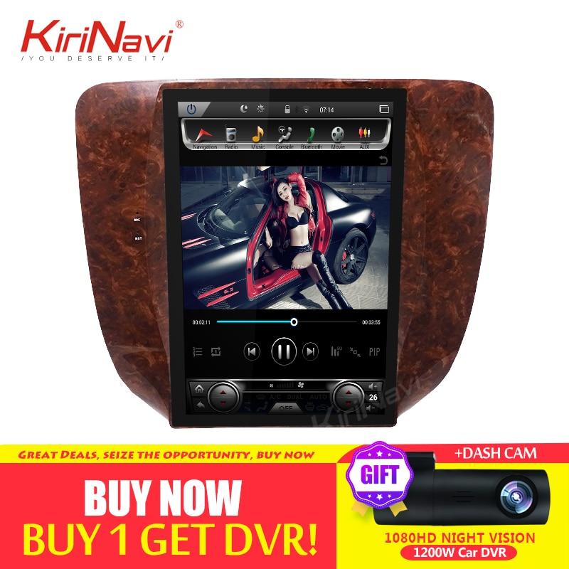 "KiriNavi 12.1"" Android 8.1 Car Radio GPS Navigation for Chevrolet Silverado Suburban Avalanche GMC Sierra Yukon Car Dvd Player"