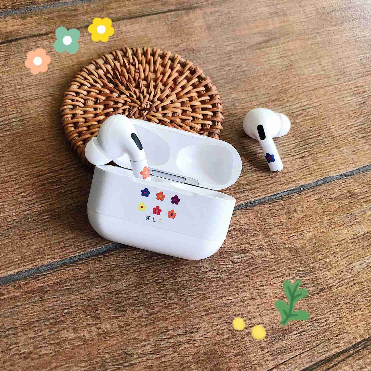 Cartoon Sticker Dust Guard for AirPods Pro 21