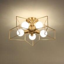 Современная светодиодная Люстра для детской комнаты спальни
