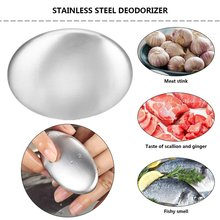 Stainless Steel Soap Kitchen Garlic Fish Odor Removing Deodorize Smell From Hands Retail Magic Eliminating Odor Kitchen Bar durable magic soap odor remover kitchen bar eliminating odor remover stainless steel soap