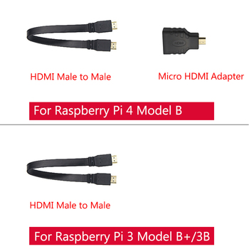 7 inch Raspberry Pi 4B /3B+/3B Touch Screen 16:9 1024*600 800*480 LCD HDMI Display