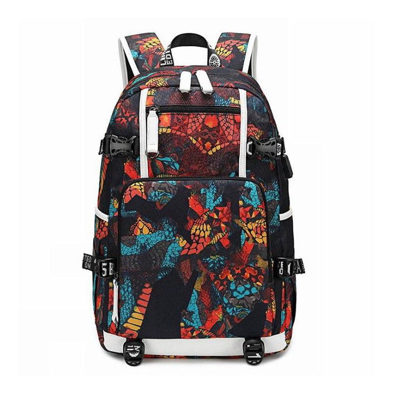 Waterproof Backpacks Oxford Printed USB Travel Backpack Students School Bags for women men Can Custom Logo Image Shoulder Bags|Backpacks| - AliExpress